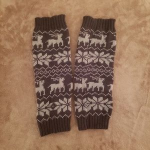 Accessories - 💥2 for $20💥Christmas Reindeer Knit Leg Warmers